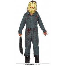 Costume JASON/HOCKEY - Tg 10/12 anni