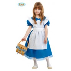 Costume ALICE - Tg 5/6 anni