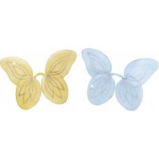 Ali Farfalla Celeste e Gialla
