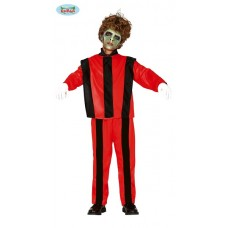 Costume MICHAEL JACKSON ZOMBI CANTANTE - Tg 10/12 anni