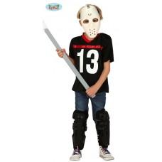 Costume JASON/HOCKEY - Tg 7/9 anni
