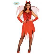 Costume DIAVOLESSA - Tg L 42/44