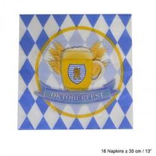 Cf. 16 Tovaglioli Oktoberfest 33 cm