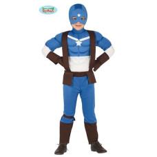 Costume CAPITAN AMERICA - Tg 10/12 anni