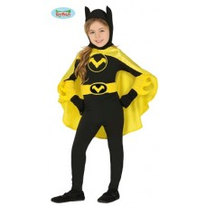 Costume BAT GIRL - Tg 7/9 anni