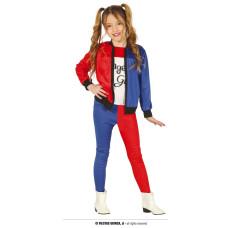 Costume HARLEY QUINN - Tg 3/4 anni