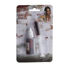 Bottiglia Sangue c/siringa