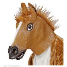 Maschera Cavallo Marrone