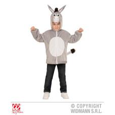 Costume ASINO (Felpa) - Tg 3/5 anni 113 cm