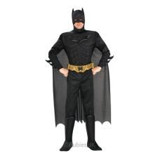 Costume BATMAN c/muscoli Deluxe - Tg L 8/10 anni